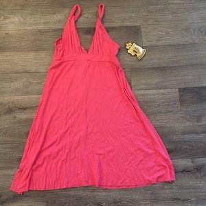 NWT Elan peach Mini Dress/ size S